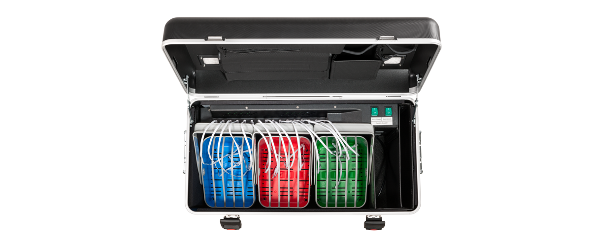 PARAPROJECT® Case i15 Basket, Charge & Sync